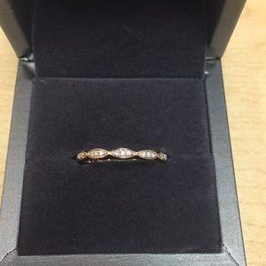 Jewelry - Rose Gold Diamond Eternity Band